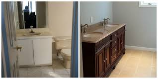 Bathroom Before And After by Before