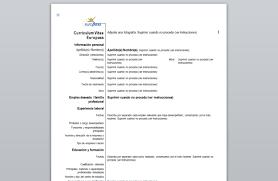 curriculum vitae europeo 2016 gratis curriculum vitae europeo en francais cheap writing essay