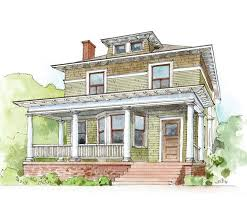 american home styles 63 best 1890 1930 american foursquare images on pinterest vintage