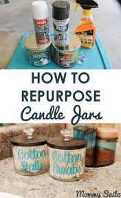best 25 empty candle jars ideas on pinterest reuse candle jars