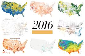 Charleston Zip Code Map by 2016 In Graphics The Year In Must See Visualizations From The