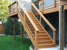 Deck Stairs Design Ideas Backyard Deck Stairs Awesome Deck Stairs Design Ideas Gallery