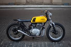 motorcycles and more yamaha xs400 cafe racer cafe style