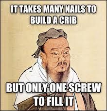 Confucius Says Meme - wise confucius says meme guy