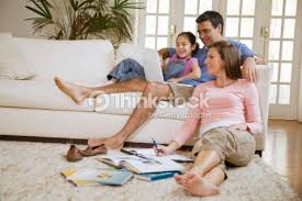Family In Living Room Stock Photo Thinkstock - Family in living room