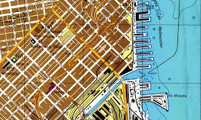 San Francisco Topographic Map by Inside The Secret World Of Russia U0027s Cold War Mapmakers Wired