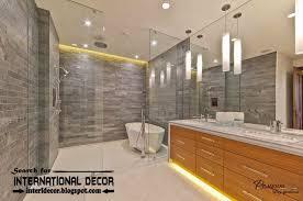 Beautiful Contemporary Bathroom Light Fixtures The Mirror Lighting - Bathroom lighting 2