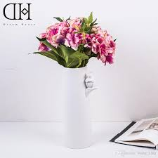 2017 dh hydrangea artificial flower arrangement potted flowers set