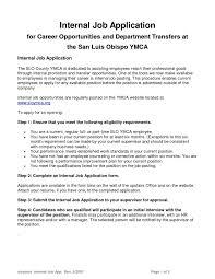 resume cover letter internal job posting cover letter sample