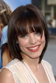 Blunt Cut Bob Hairstyle Blunt Cut Bob With Bangs Angled Layers Can Be Cut To Accent A