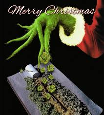 Grinch Memes - stoner grinch christmas weed pic extra marijuana buds weed memes
