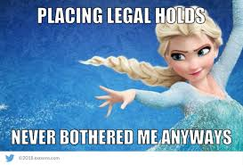 Elsa Meme - friday funnies exterro s e discovery meme series elsa edition