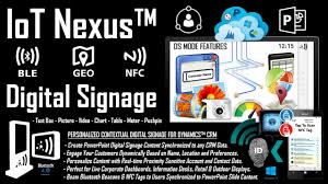 iot nexus digital signage identity detection and data