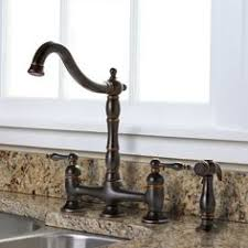 bronze kitchen faucets antique pullout spray sidespray pre rinse brass rubbed bronze