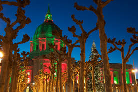 christmas lights san francisco christmas scene from san francisco koji kawano imagery