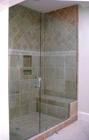 Shower Doors Seattle Shower Cedar Shower Bench With Window Glass Glass Shower
