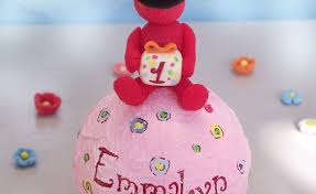 elmo cake topper flower girl elmo cake gardening flower and vegetables