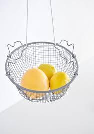 Fruit Decor For Kitchen Diy Hanging Fruit Basket