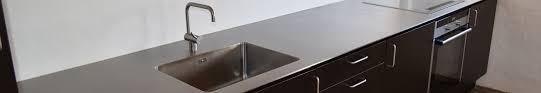 STAINLESS STEEL KITCHEN TABLE TOPS Dansk Stålmontage - Stainless steel kitchen table top