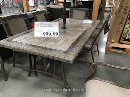 Patio Dining Sets With Fire Pits by Fire Pit Patio Sets Costco Madison 5 Piece Fire Chat Setfire Pits