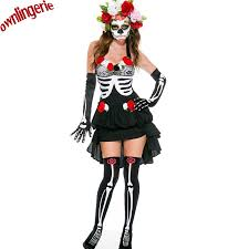 Womens Skeleton Halloween Costume Buy Wholesale Halloween Costumes Skeleton Woman China