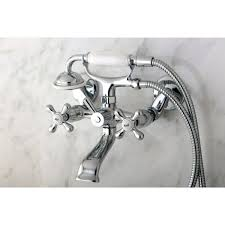 Tub Faucet Wall Mount Victorian Wallmount Clawfoot Bath Tub Faucet Free Shipping Today