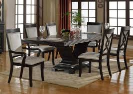 espresso dining table with leaf serendipity 7 piece dining set in extra dark espresso finish