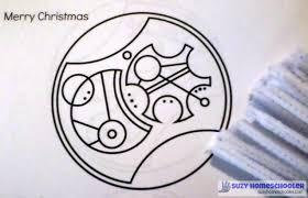 diy gallifreyan writing ornament suzy homeschooler
