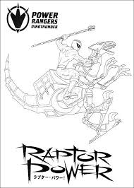 red zord coloring pages coloring