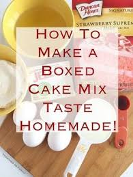 how to make a cake taste like a bakery cake bakeries boxed