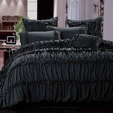 Purple Ruffle Comforter Bedroom Ruffled Bed Comforters Ruffle Queen Comforter Ruffle Bedding