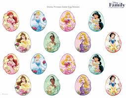 Minnie Mouse Easter Stickers Printables