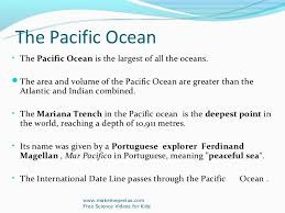 Ppt On Ocean Facts Worlds Best Ppt