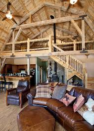 barn interiors various barn home interiors traditional living room other by