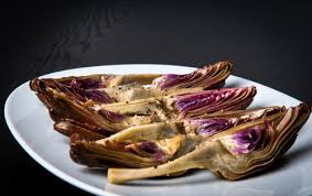 cuisiner les artichauts violets artichauts violets à l huile d olive vierge châtelaine