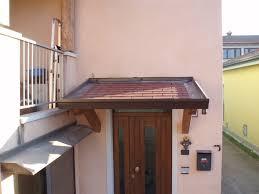 tettoia in legno per terrazzo tettoie per entrate e balconi civer coperture snc coperture