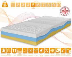 materasso presidio medico materasso memory 3 strati onda med effetto relax 11 zone