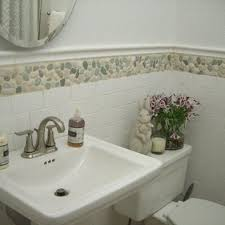 wallpaper borders bathroom ideas 132 best wall tile ideas pebble and images on