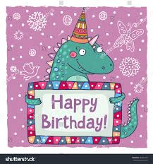 cute happy birthday greeting card template stock vector 384482239
