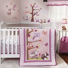 Crib Bedding Pattern Bedroom Inspiring Baby Nursery Bedding Set Salmon Pink And Gray