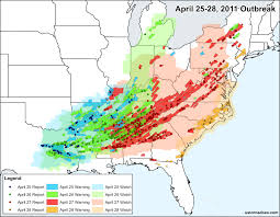 the 2011 southern tornado outbreak in numbers the science of the