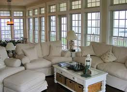 Coastal Cottage Living Rooms by Beach Cottage Design And Decor Cool Comfortable And Casual