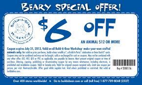 free printable build a bear coupon november 2017