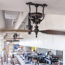 potter art metal studios wrought iron brass u0026 copper ceiling fan