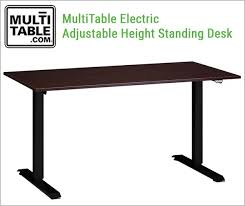 electric vs manual which desk is right for you multitable