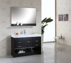48 Inch Bathroom Vanities With Tops Virtu Usa Ms 575 C Es Gloria 48 Inch Single Sink Bathroom Vanity