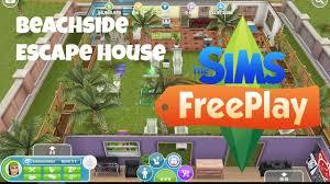 sims freeplay beach side escape house tour youtube