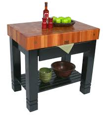 john boos butcher block table kitchen tables bloc de foyer end grain cherry butcher block with drawer 36