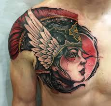 valkyrie neo traditional chest shoulder best design