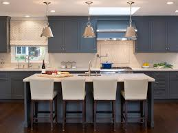 blue gray stained kitchen cabinets kitchen cabinet paint colors pictures ideas from hgtv hgtv